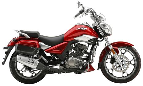 Haojue TR 150 Red