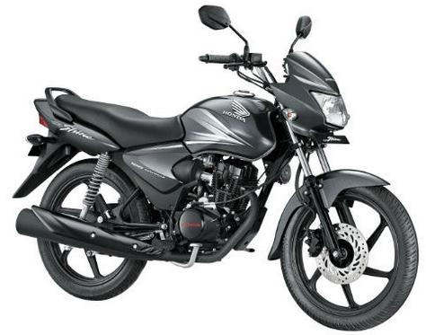 Honda CB Shine Black