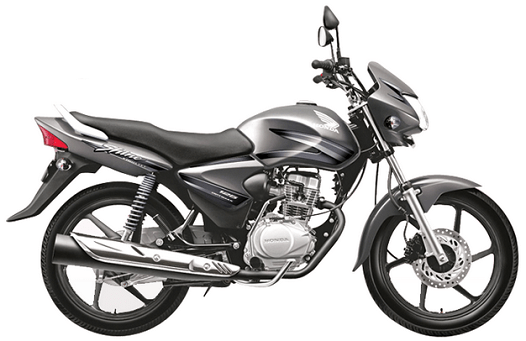 Honda CB Shine Grey Metallic