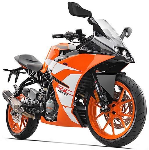 KTM RC 125 Orange