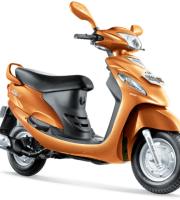 Mahindra Rodeo RZ Orange