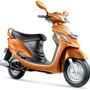 Mahindra Rodeo RZ Orange