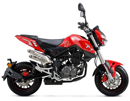 Benelli TNT 135 Red