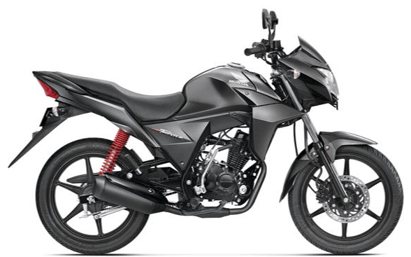 Honda CB Twister Heavy Grey Metallic