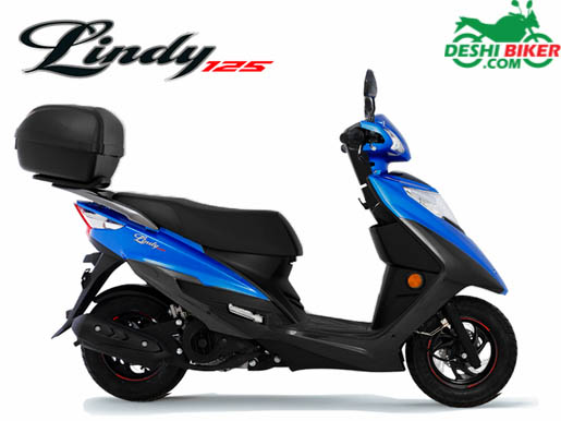 Haojue Lindy 125 Blue