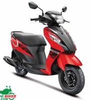 Suzuki Lets Red & Black
