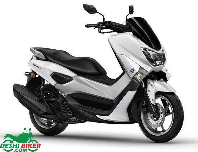 Yamaha NMax 155 White
