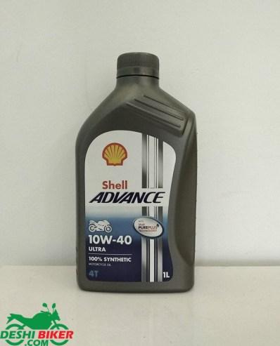 Shell Advance Ultra 4T 10W-40