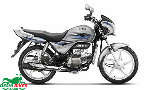 Hero Splendor Pro Cloud Silver