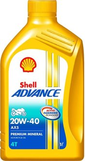 Shell Advance AX5 20W40