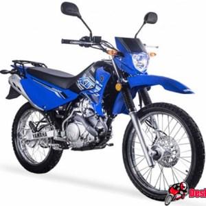 Yamaha XTZ 125 Blue
