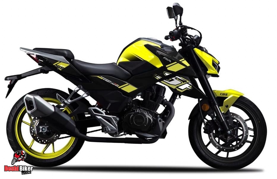 FKM Street Fighter 165 Yellow