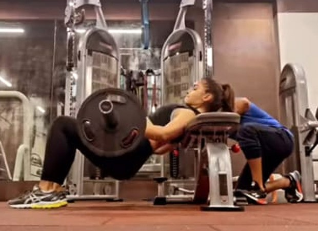 Alia Bhatt is the hardest worker in the gym, does barbell hip thrusts : Bollywood News