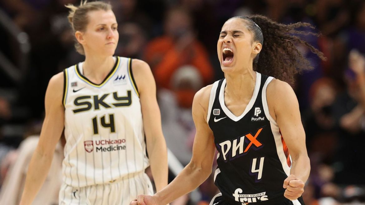 2021 WNBA Finals – Skylar Diggins-Smith seals Game 2 victory as Phoenix Mercury even series with Chicago Sky