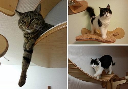 arbre a chat fait maison excellent arbre a chat maison a chat a chat a chat arbre a chat mural. Black Bedroom Furniture Sets. Home Design Ideas
