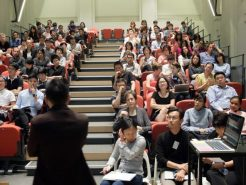 Chong Keng Hua's talk on Slow Design to a full-house audience