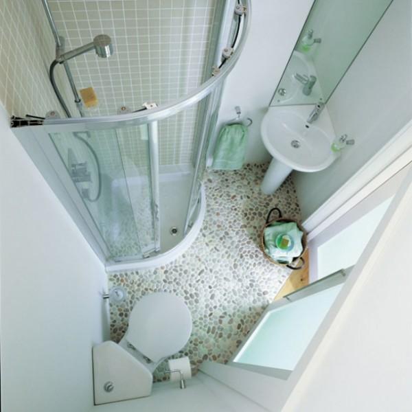 35 mini salles de bains qui font un