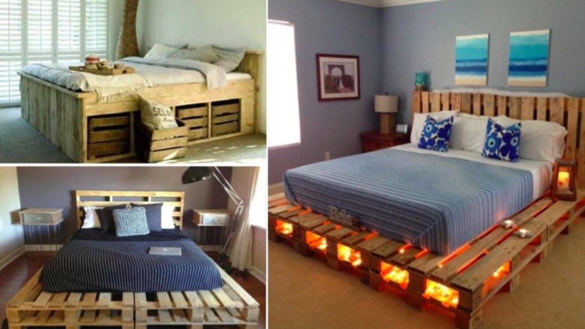 lits en palette pour votre chambre