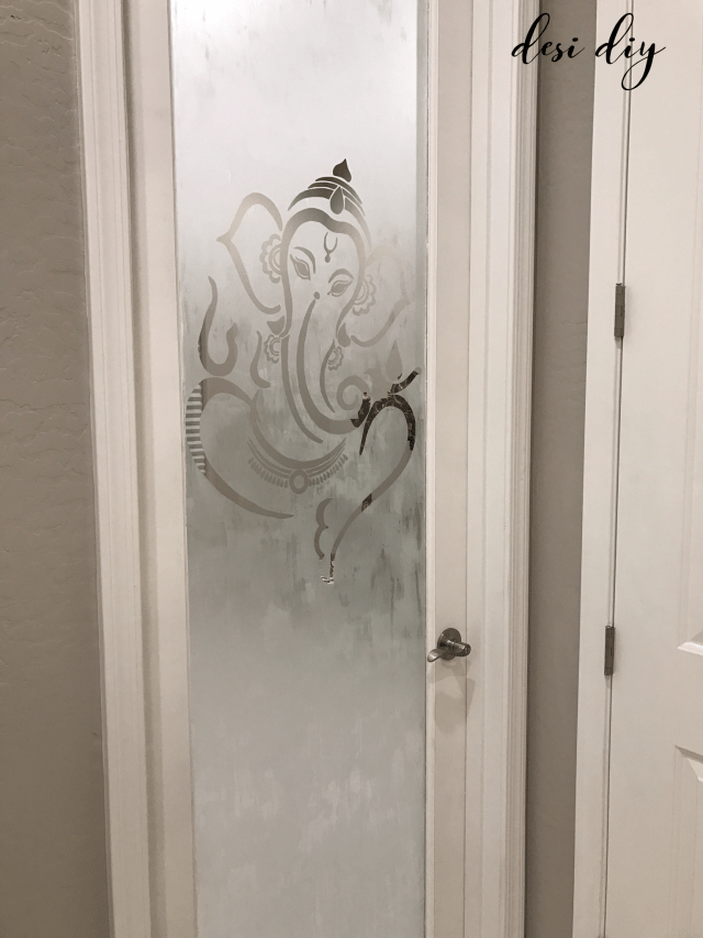 Now Remove The Wall Decal Sticker On Door Slowly