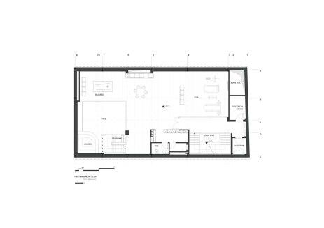 Sharifi-ha House by nextoffice - Basement Plan