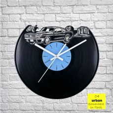 Urban Texas Vinyl Clock by ArtZavold
