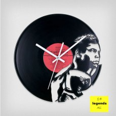 Legends Muhammad Ali Vinyl Clock by ArtZavold
