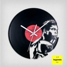 Legends Muhammad Ali Vinyl Clock by ArtZavold
