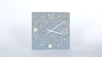 SAU Clock by Kyle Megill