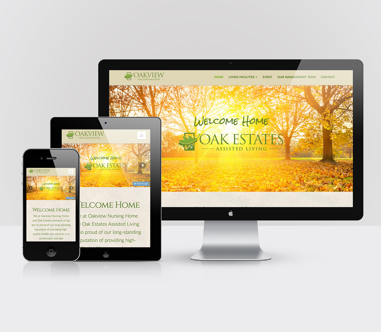 Oakview Estates Website