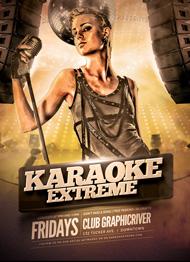 Karaoke Extreme Flyer