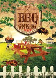 Summer BBQ Picnic Flyer