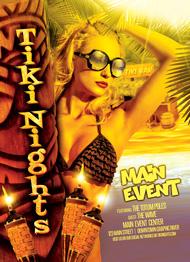 Tiki Nights Flyer