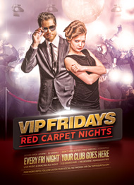 VIP Fridays Flyer