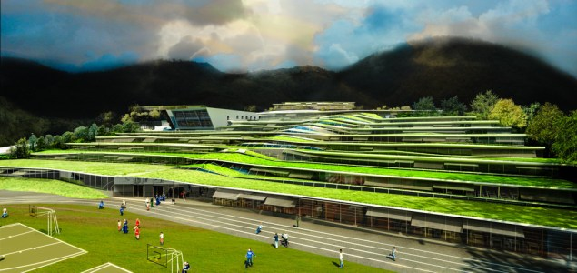 Revin, France - The design planned for a high school  Image: The Plaid Zebra