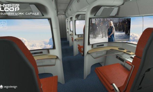 business capsule entertainment hyperloop-1