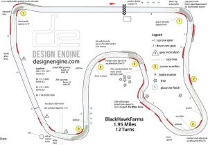 Blackhawk Farms Track Map Sept 2015