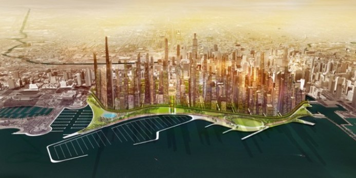 """The Big Shift"" Image: Port Urbanism"