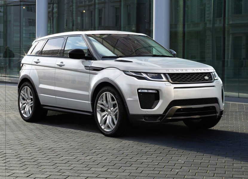 The Real Thing: Land Rover's Evoque SUV starts at about $65,000 Image: Land Rover