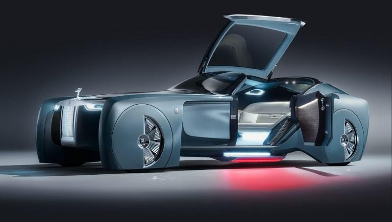 Rolls-Royce Unveils Its First Driverless Concept Car | Design Engine