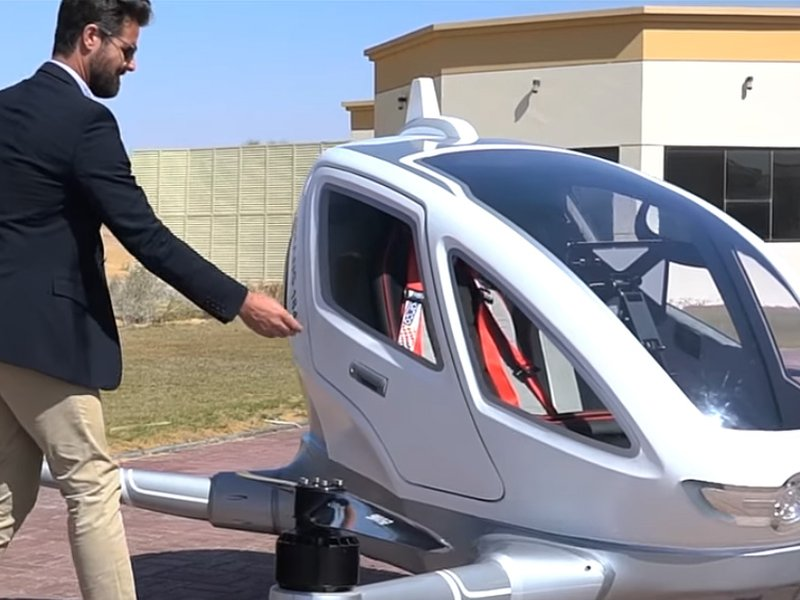 Uber For The Sky Drone Taxis Set To Fly In Dubai This Summer