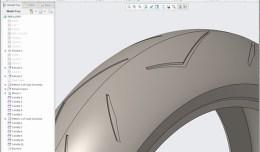 Creo Pirelli Motorcycle tire