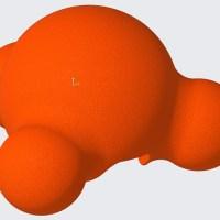 dog ball created w/ Creo 4.0
