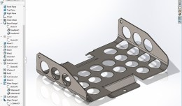 Solidworks sheetmetal bracket