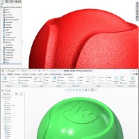 jw dog ball in both Solidworks & Creo
