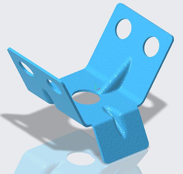 Creo 6.0 sheetmetal model