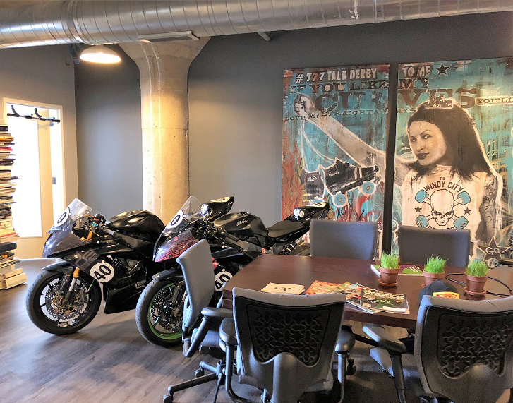 An image of the Design Engine office space