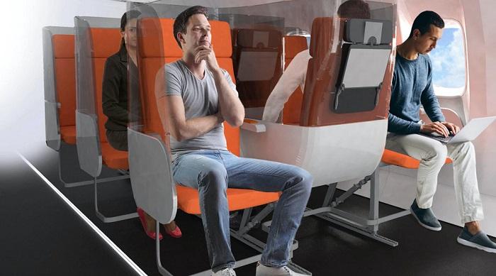 Reverse seating on airplane