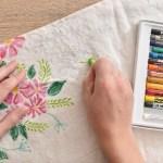 Stencil It Diy Baby Month Milestone Blanket Design Fixation