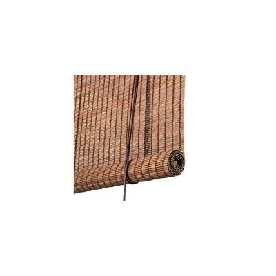 Mørk brun bambus rullegardin Color Co