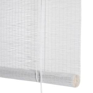 Color Co Hvid fin bambus rullegardin